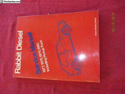 rabbit diesel repair manual