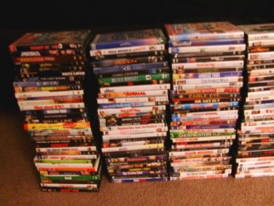 DVD Collection 190 Movies