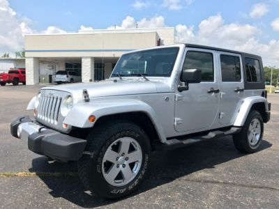 2008 Jeep Wrangler Unlimited Sahara (Silver)