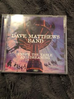 Dave Matthews CD - under the table and dreaming