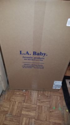 L.a baby crib or toddler bed mattress
