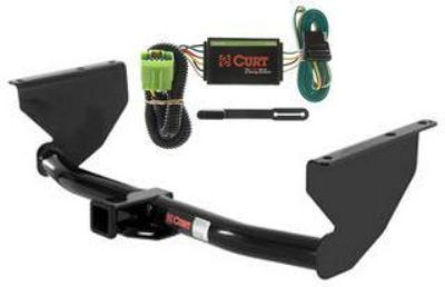 Purchase Curt Class 3 Trailer Hitch & Wiring for 1999-2004 Jeep Grand Cherokee motorcycle in Greenville, Wisconsin, US, for US $161.42
