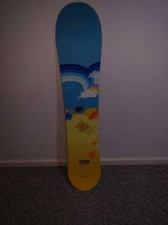 Used Snowboard for young girl