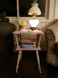 Romantic End Table or Night Stand