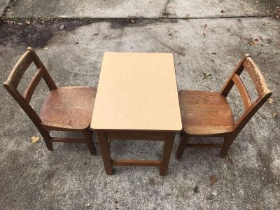 Great Project Piece Children's Table and Chairs