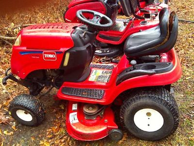 Lx460 Toro 46cut Riding Mower
