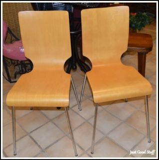 2 - MODERN STYLE CHAIRS
