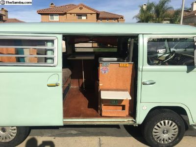 1971 VW Bus Tin Top Camper