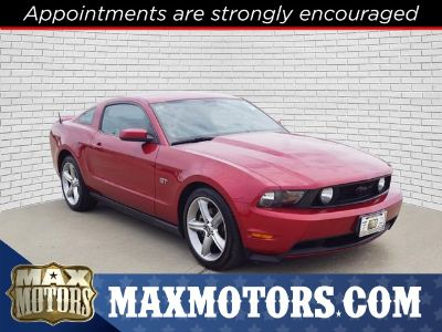 2010 Ford Mustang GT Premium (red)