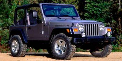 2006 Jeep Wrangler Rubicon (Black)