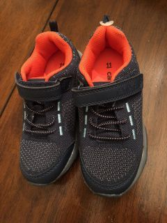 Carters new light up sneakers size 11