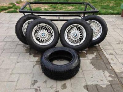 $500 OBO Tires - Four E38 BMW Wheels + 235/60r16 Tires NEW