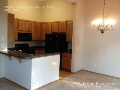 7075 Peony Ln N - HOUSE - 2 beds, 2 full and 1 half baths