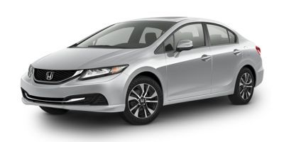2015 Honda Civic EX CVT Sedan (Alabaster Silver Metallic)