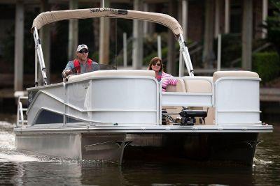 2019 SunCatcher V322 RF Pontoon Boats Afton, OK