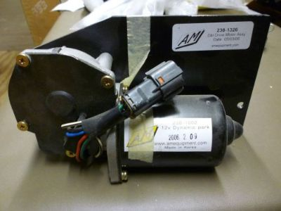Sell AM 12V Dynamic Park Wiper Motor W/ Double Drive Motor Assembly motorcycle in Saint Augustine, Florida, United States
