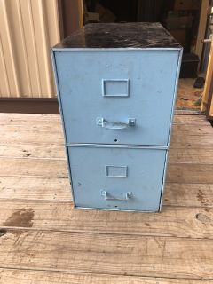 2 Drawer Filing Cabinet 14W x 25L x 25T