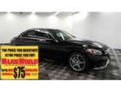 $25900.00 2016 MERCEDES-BENZ C-Class with 33401 miles!