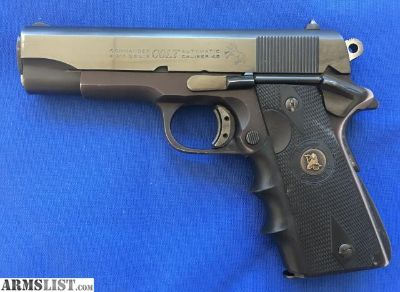 For Sale: COLT 1911 SERIES 70 LIGHTWEIGHT COMMANDER 45 LIGHT WEIGHT .45