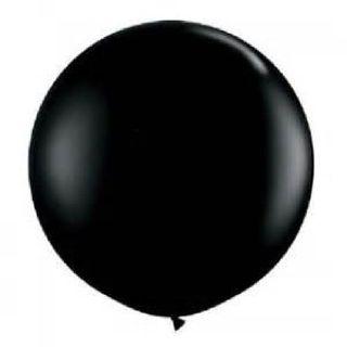 Jumbo 7 foot Black Latex Balloons.  $9.99 All orders get free LED lights