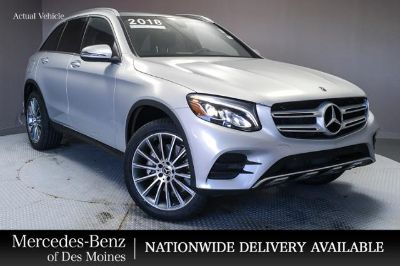 2018 Mercedes-Benz GLC (Iridium Silver Metallic)