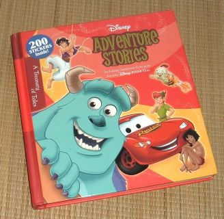 Disney Pixar Adventure Stories Thick 320 Page 19 Classic Storybook Collection