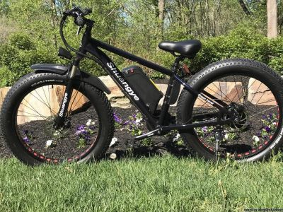 E Bike FAT TIRE OFF road Maountain Bike 1000W 48V special build NEW BLACK OPS