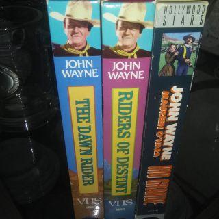 old john wayne vhs movies