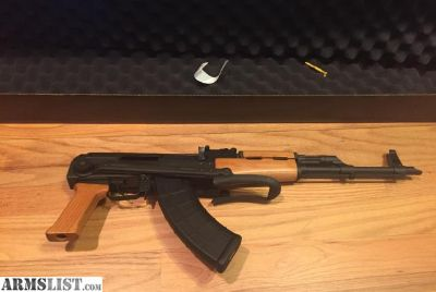 For Sale: AK47 in 7.62x39mm Century Arms AK63DS Underfold stock 30rnd PMAG AK-47 Underfolder New in box