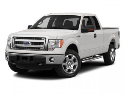 2013 Ford F-150 XL (White)