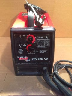 Lincoln Electric Pro-MIG 175 (GMAW) or (FCAW) welder