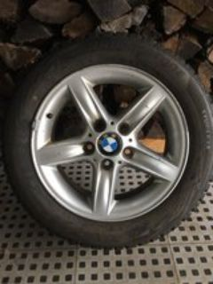 Bridgestone Blizzak WS80 Winter Radial Tire including BMW wheels