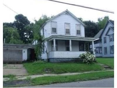 3 Bed 1 Bath Foreclosure Property in Gloversville, NY 12078 - 3rd St