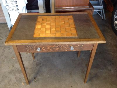 Hand made gaming table