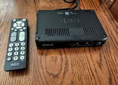 RCA digital TV box with remote