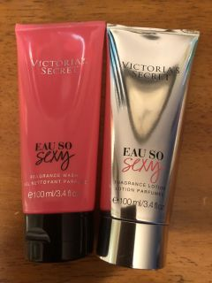 NEW VICTORIA SECRET EAU SO SEXY LOTION AND BODY WASH