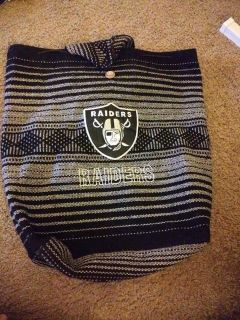 New oakland Raiders backpack