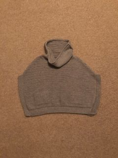Old Navy Sparkle Gray Poncho - 2T