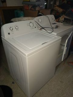 SEARS KEMORE WASHER AND DRYER