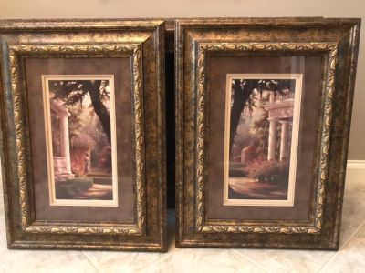 Large beautiful pictures - set of two