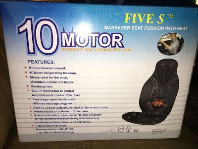 Massager with heat new