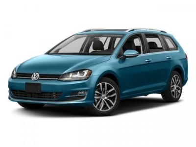 2017 Volkswagen Golf SportWagen S (Silver)