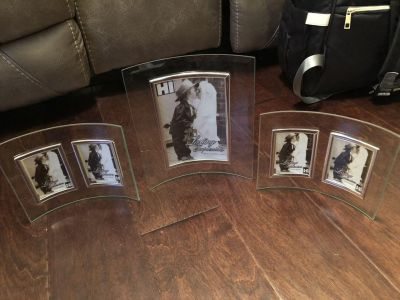 Curved Glass Picture Frames