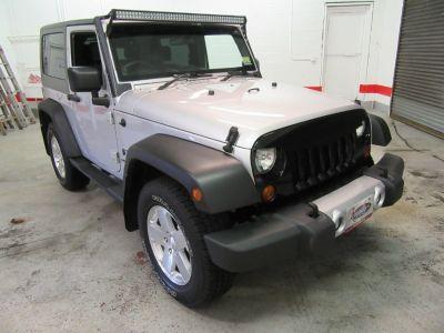 2008 Jeep Wrangler X RHD (Silver)