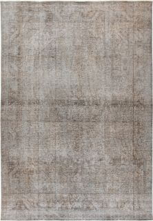 "Vintage, Hand Knotted Area Rug - 7' 10"" x 11' 3"""