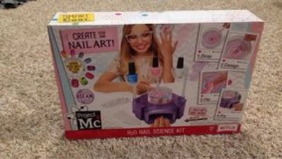 project Mc2 nail science kit