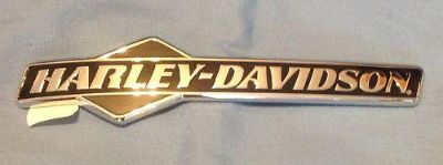 Purchase Harley Davidson OEM Chrome Fuel Tank Emblems motorcycle in Kingsville, Missouri, US, for US $74.99
