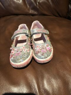 Lelli Kelly girls sequin shoes
