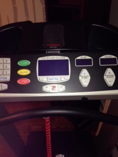 Landice Pro Sports Trainer Treadmill (L7) $1,200