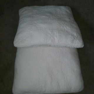Large White Decor Pillows for couch or bed